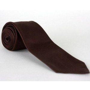 Vintage 60s/70s Arrow Skinny Atomic Brown Necktie